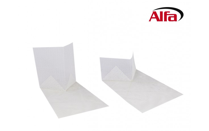 548 Alfa Sturzeckwinkel für die Diagonal- und Inneneckarmierung.