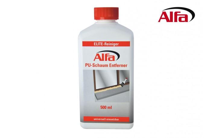 629 Alfa PU-Schaum entfernt frischen und ausgehärteten Montageschaum.