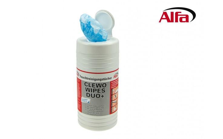 Clewo Feuchtreinigungstücher sanft & rau