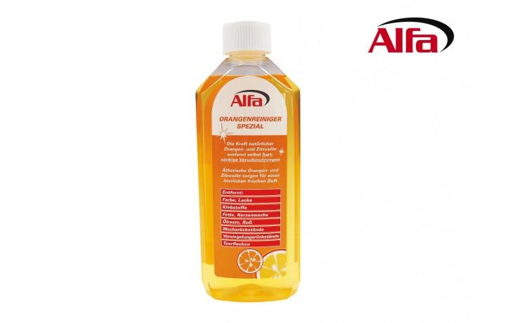Hochwirksam konzentrierter Reiniger mit natürlichen Zitrus- und Orangenölen