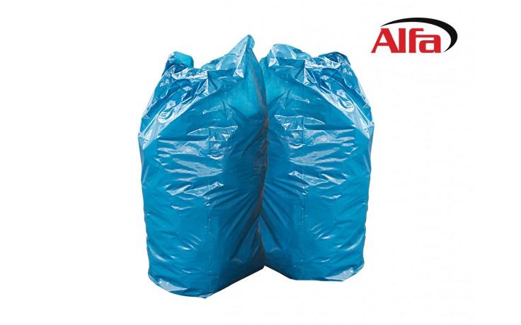 Stabile Alfa Müllsäcke mit 120 oder 240 Liter Fassungsvermögen