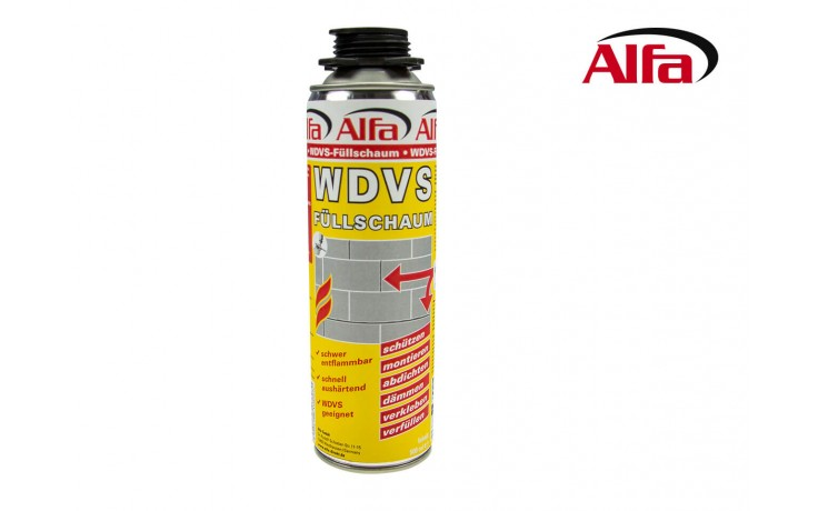 WDVS-Füllschaum Anwendung