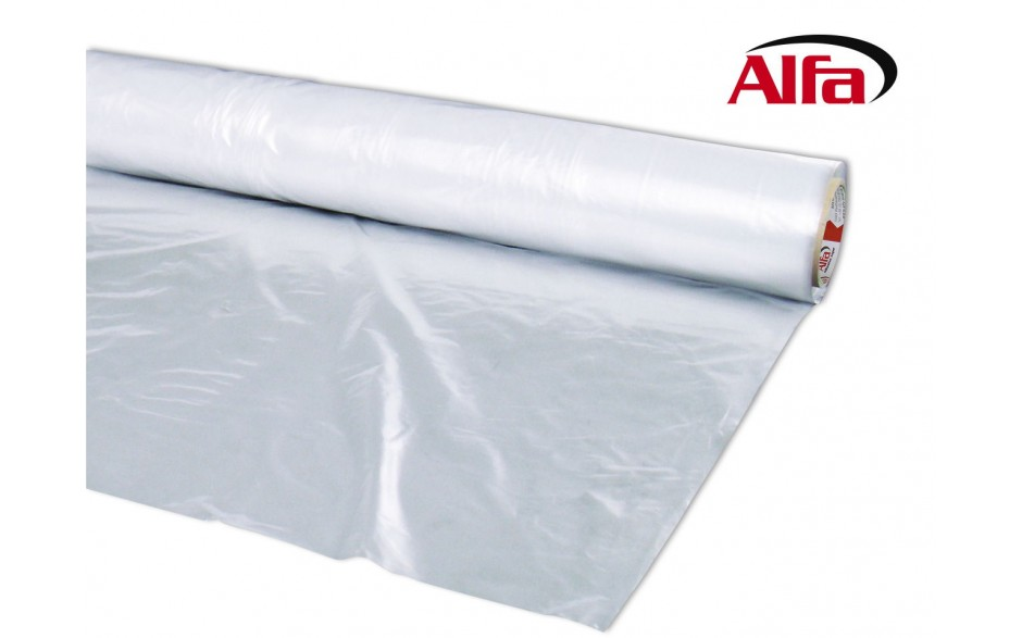 Alfa PE-Abdeckfolie in 50 μm Stärke transparent Schutzfolie