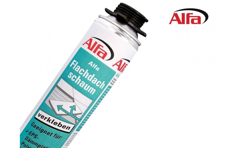 608 Alfa Flachdachschaum für Wärmedämmplatten im Flachdachbereich