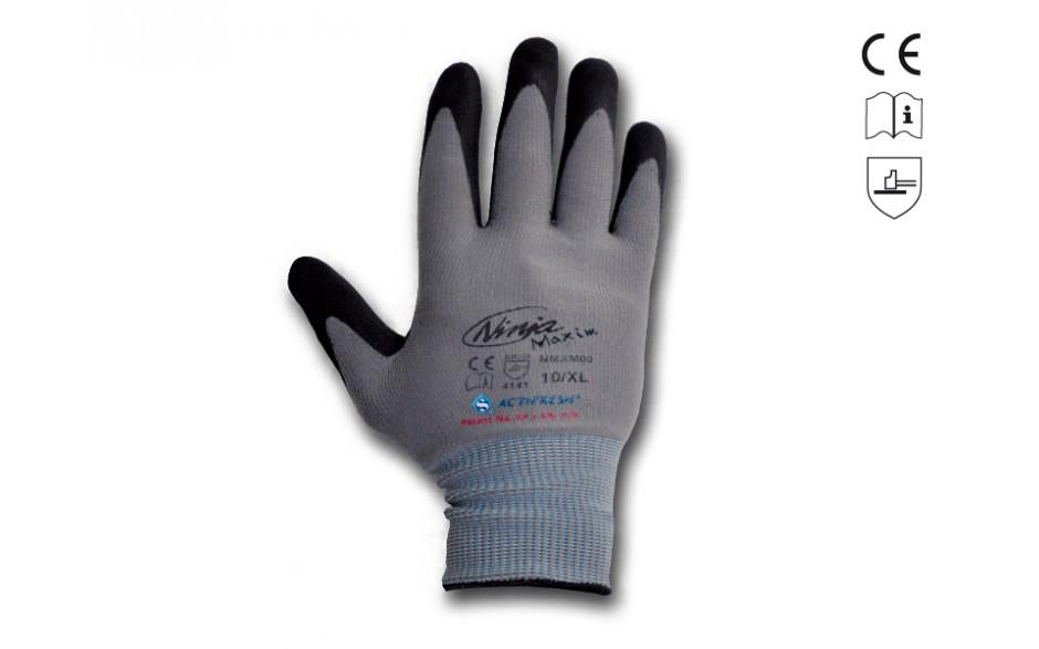 Der Handschuh bietet einen hervorragenden Nass- und Trockengriff