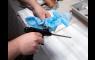 Feuchtreinigungstücher zum Reinigen von Schaumpistolen